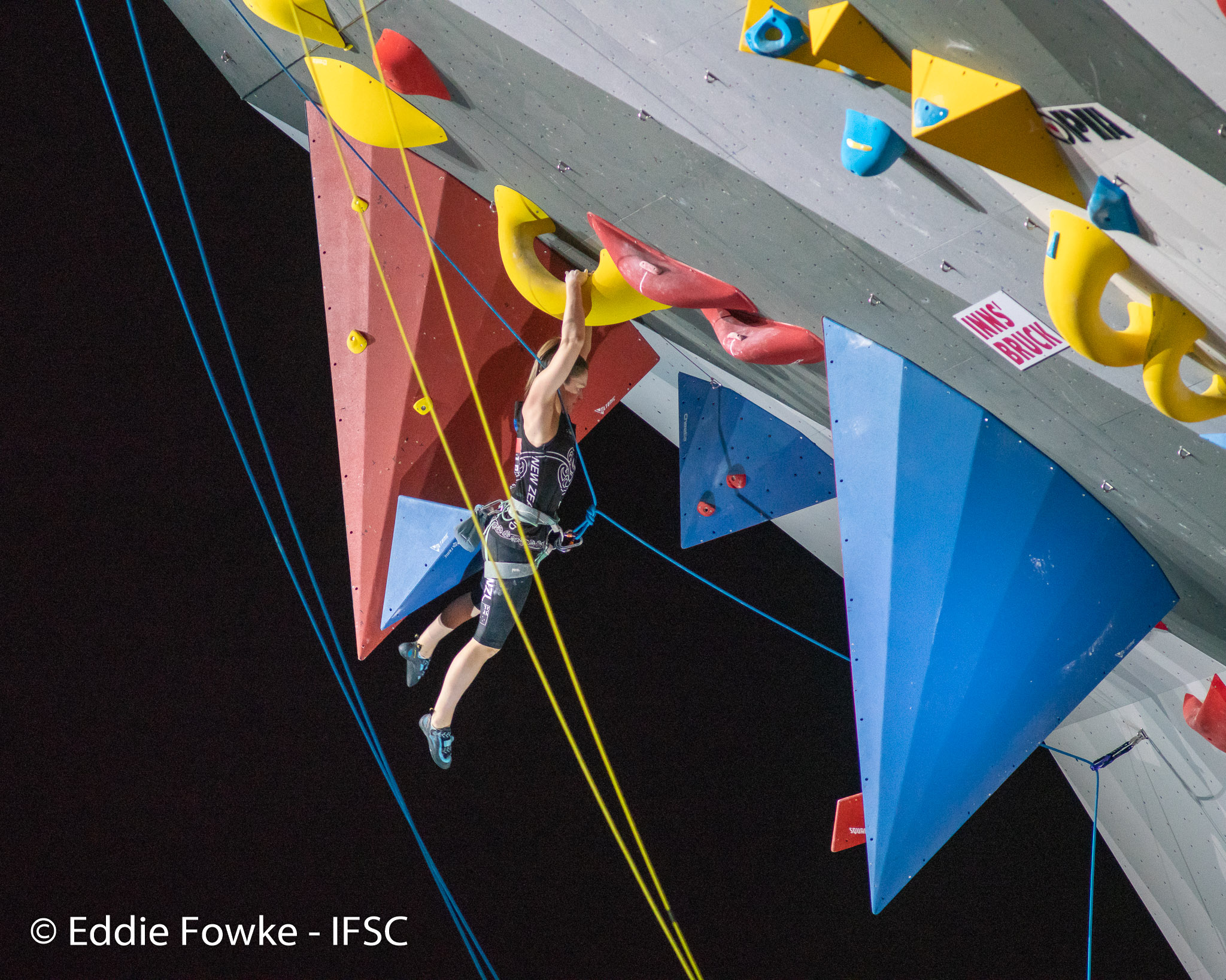 Rachel Carter places 4th at IFSC World Championships in Innsbruck