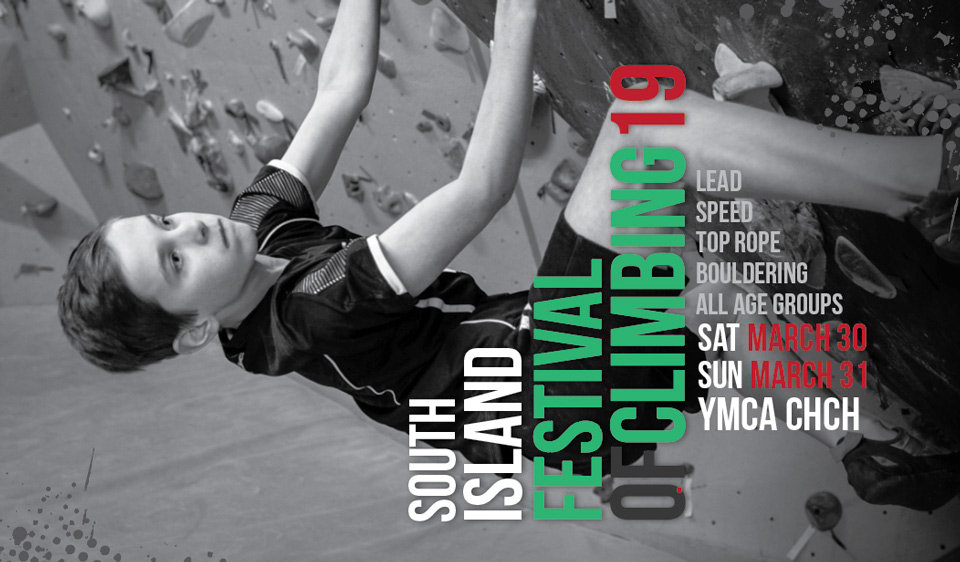 Registrations open for the South Island Festival of Climbing